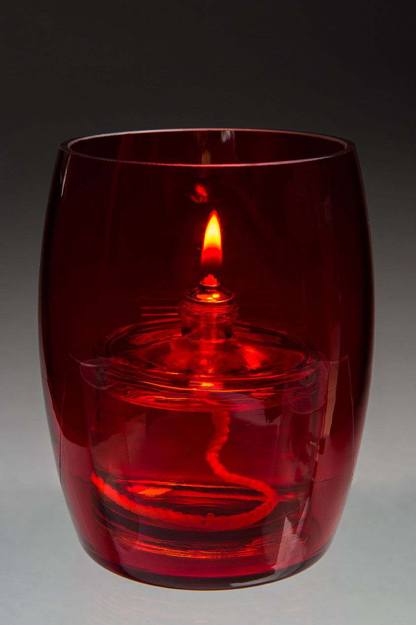 BILBAO RED OIL CANDLE