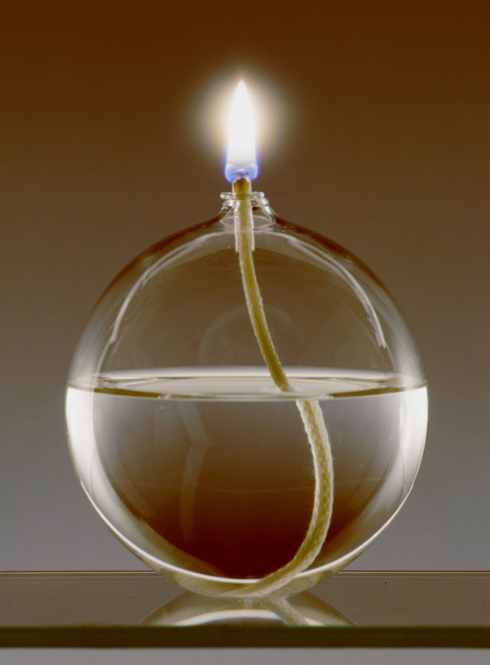 Ball Oil Candle
