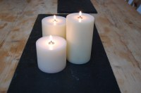 Nylon Church Candle Three Sizes