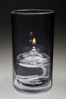 New York Grey Oil Candle