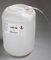 25 ltr drum of clear lamp oil