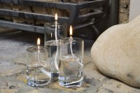 Set of three Pillar candles
