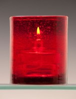 Atlas Red Oil Candle