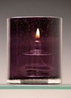 Atlas Purple Oil Candle
