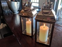 Nylon Church Candle 120mm Lanterns Not Included