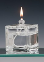 Mini Cube Oil Candle